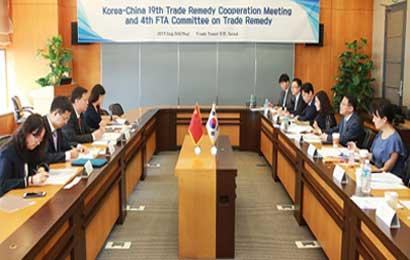 中韩举行贸易救济合作机制第19次会议