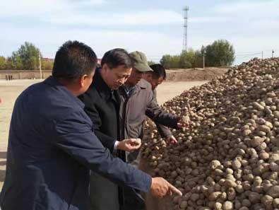 余本林局长赴宁夏开展参加贸易救济扶贫专题调研